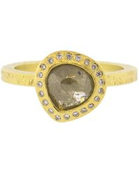 Todd Reed - Fancy Cut Pear Shape Diamond Ring - Lyst