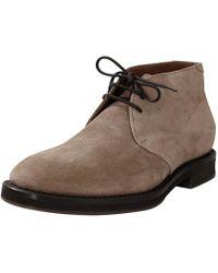 Brunello Cucinelli - Suede Desert Boot - Lyst