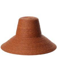Janessa Leone Chesnut Janine Bucket Hat - Brown