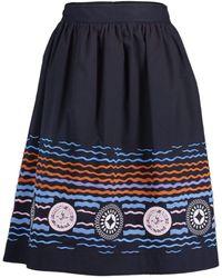 Peter Pilotto Iris Skirt - Blue