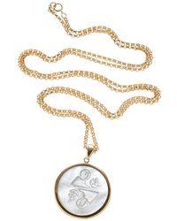 Asha - Zodiac Pendant Necklace - Lyst