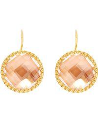 Larkspur & Hawk - Olivia Button Earrings - Lyst