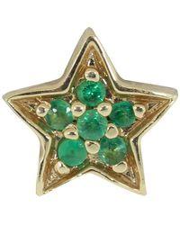 Andrea Fohrman Single Emerald Star Stud - Multicolour