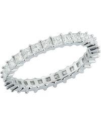Dana Rebecca White Gold Millie Ryan Diamond Eternity Ring - Metallic
