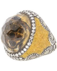 Sevan Biçakci - Carved Citrine Sea Turtle Diamond Ring - Lyst