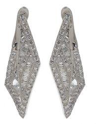 Kavant & Sharart Diamond Geoart Earrings - Multicolour