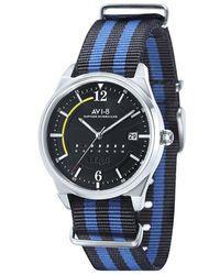 AVI-8 Black And Blue Hawker Hurricane Watch