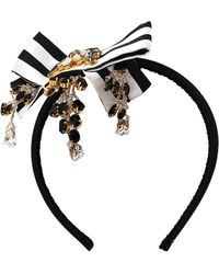 Dolce & Gabbana Bow Headband - Multicolour