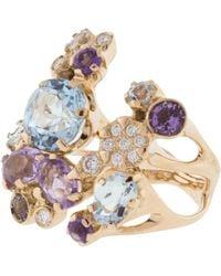 Federica Rettore Bouquet Ring - Metallic
