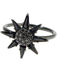 Bondeye Clio Black Spinel Ring