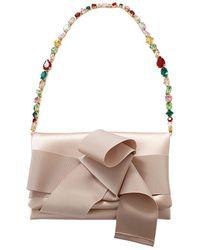 a3edb4773df0 Dolce   Gabbana Miss Sicily Jewel Chain Bag in White - Lyst