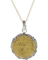 Sylva & Cie - Francois The First Coin Pendant - Lyst