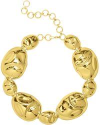 Monica Sordo Gold Oriente Choker - Metallic