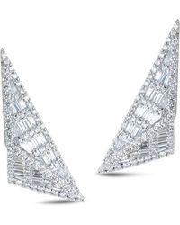 Kavant & Sharart Diamond Origami Trillion Ear - Multicolour