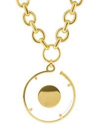 Chloé - Terry Plexiglas Necklace - Lyst