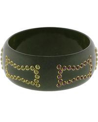 Mark Davis - Grey Bakelite Bangle - Lyst
