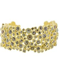 Todd Reed - Natural Diamond Cluster Cuff Bracelet - Lyst