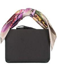 Montunas Mini Guaria Scarf Bag - Black
