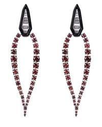 Nikos Koulis Ruby And Diamond Oui Earrings - Multicolour