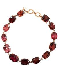 Irene Neuwirth Limited Edition Mixed Pink Tourmaline Bracelet - Multicolor