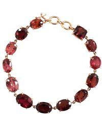 Irene Neuwirth Limited Edition Mixed Pink Tourmaline Bracelet - Multicolour