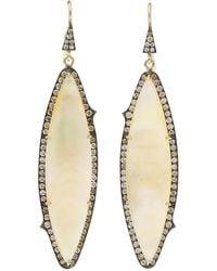 Sylva & Cie Mother-of-pearl Earrings - Multicolour