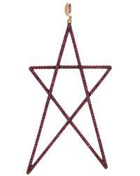 Gemfields X Muse Large Ruby Star Pendant - Multicolour