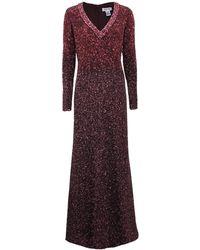 Pamella Roland - Ombre Signature Sequin Gown - Lyst