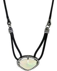 Inbar - Opal Pendant Necklace - Lyst