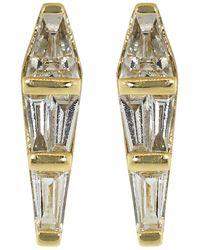 Nikos Koulis Medium Spectrum Diamond Studs - Metallic