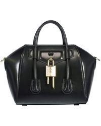 Givenchy Mini Antigona Lock Bag - Green