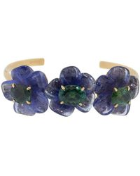 Irene Neuwirth Tanzanite Tropical Flower Bracelet - Blue