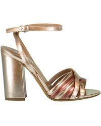 Tabitha Simmons Toni Strappy Block Heel Sandal - Pink