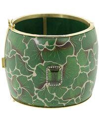 Silvia Furmanovich Green Leaf Bracelet