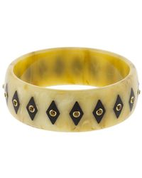 Mark Davis - Brown Bakelite Bangle - Lyst