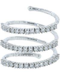 Mattia Cielo Rugiada Three Wrap Diamond Ring - Multicolour