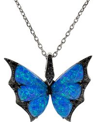 11ded8b049d6 Stephen Webster - Fly By Night Crystal Haze Pendant Necklace - Lyst