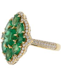 Inbar Emerald Ring - Green