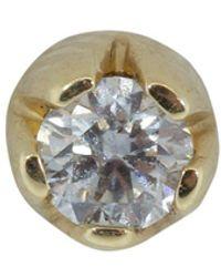 Andrea Fohrman 3.0mm Diamond Single Stud - Metallic