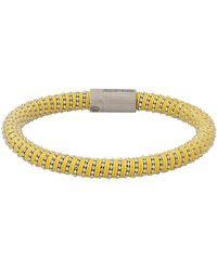 Carolina Bucci Yellow Twister Band Bracelet