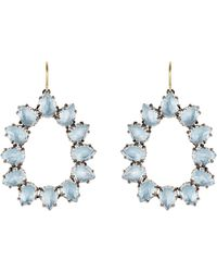 Larkspur & Hawk - Caterina Small Frame Earrings - Lyst