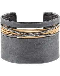 Todd Reed   White Diamond Cuff Bracelet   Lyst