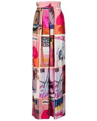 Zimmermann Silk Wide Leg Pant - Multicolor