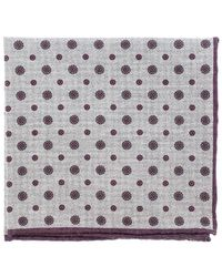 Eleventy - Pocket Square With Circles - Lyst