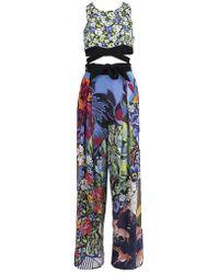 Mary Katrantzou - Beale Printed Jumpsuit - Lyst