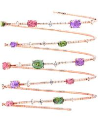 Mattia Cielo - Rugiada Five Wrap Multi Gem Bracelet - Lyst