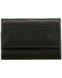 Louis Vuitton Epi Lleather 6 Key Holder - Black