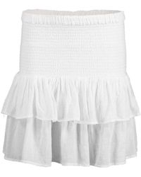 Honorine White Pixie Skirt