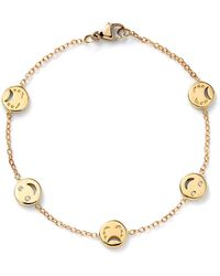 Alison Lou Red Enamel And Diamond Bracelet - Multicolor