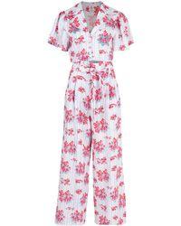 Gül Hürgel - Floral Print Pant & Shirt Set - Lyst